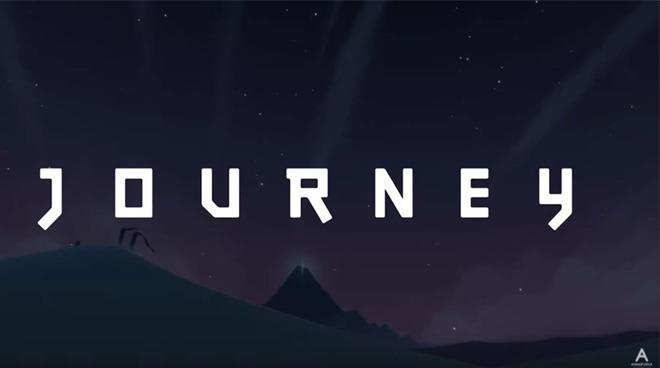Journey title card