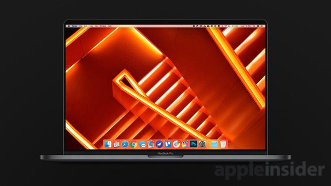 Rendering of Apple's rumored 16-inch MacBook Pro.