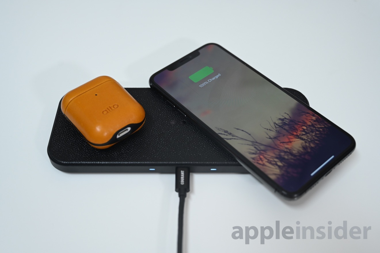 Courant Catch:2 integrates 5 Qi coils for better wireless charging