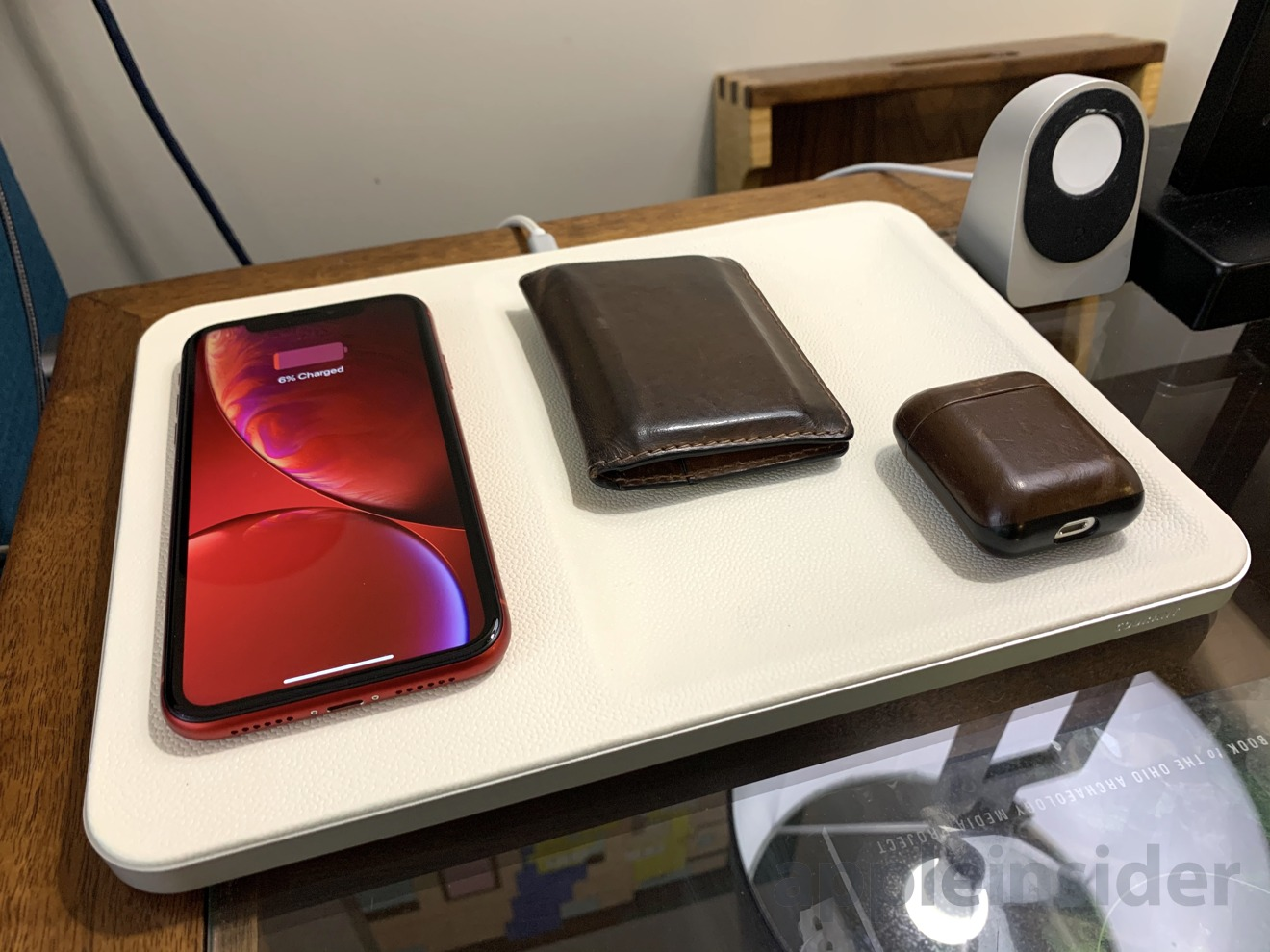 Courant CATCH:3 Qi charger and valet