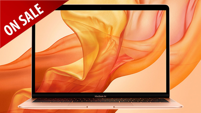 Apple's 2018 MacBook Air now $350 off, matching record low price