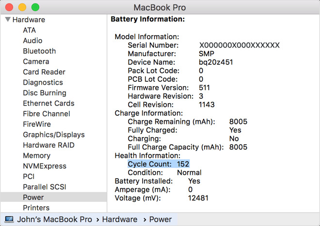 Where to find your current battery status (Photo: Apple)