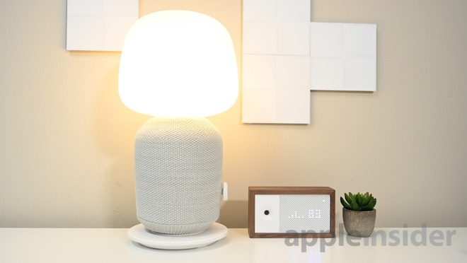 The Sonos and IKEA Symfonisk table lamp speaker