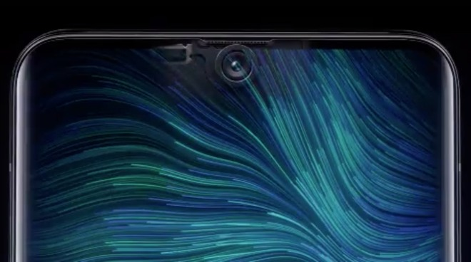 Oppo's envisioning of its Under Screen Camera