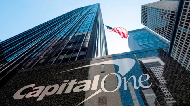 Capital One office sign