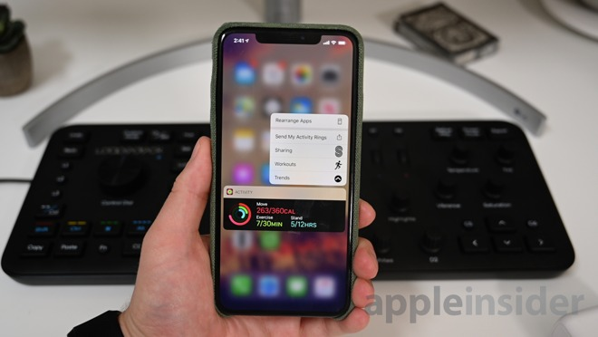 Beta 7 of iOS 13 introduces a smaller 3D Touch menu