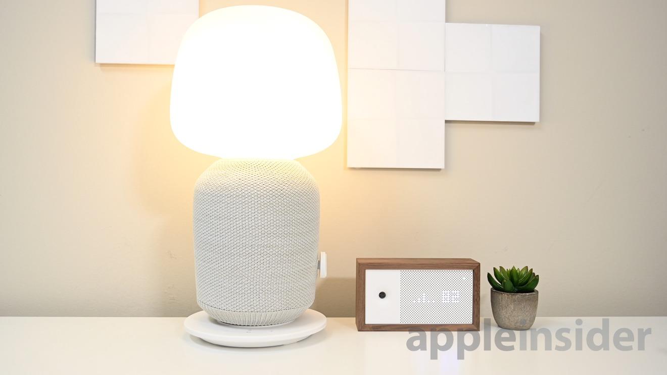 Ikea + Symfonisk lamp speaker
