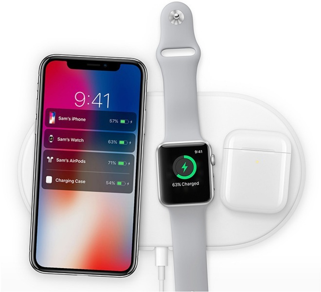 Apple's cancelled AirPower charging mat.