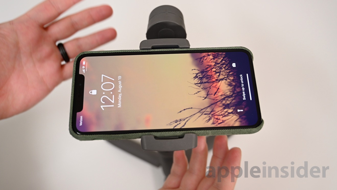 You need to balance your phone each time you use the DJI OSMO Mobile 3