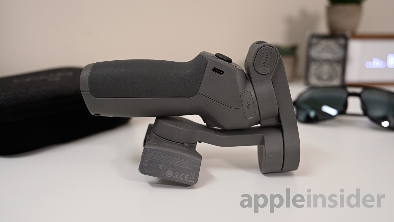 The updated DJI OSMO 3 can now fold