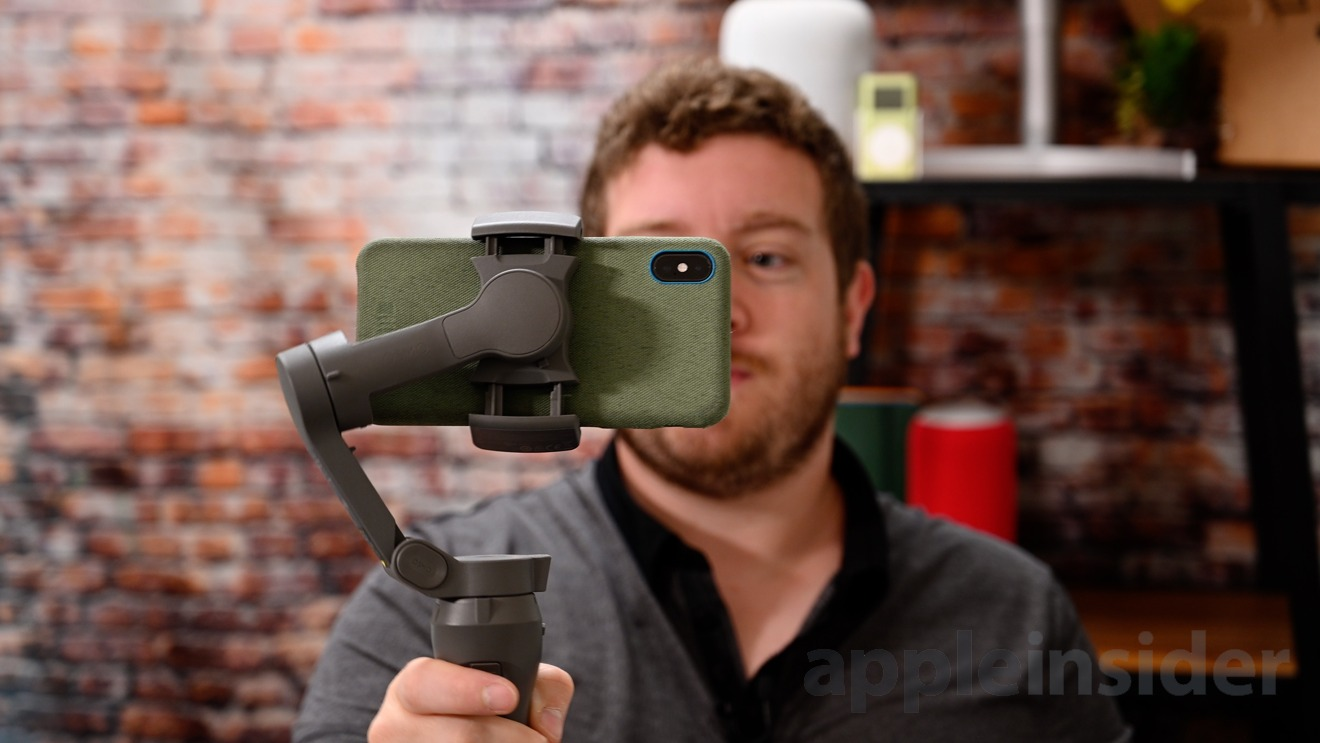 Filming with the DJI OSMO Mobile 3