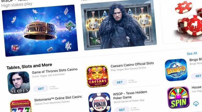 iOS App Store casino