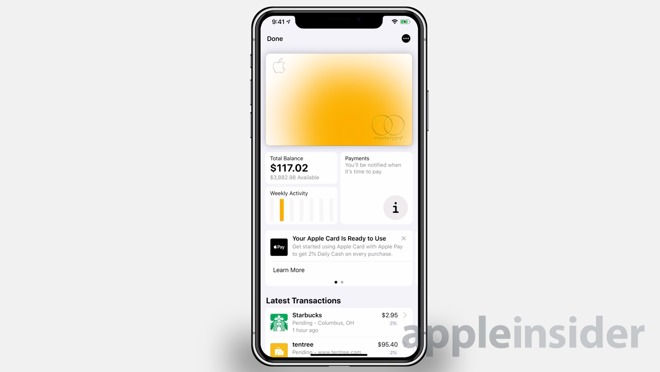 Apple Card users can contact support through text