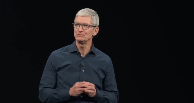 You can expect Tim Cook to say