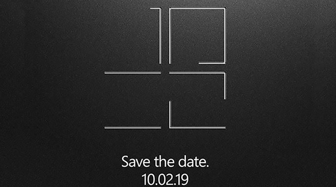 Microsoft event save the date