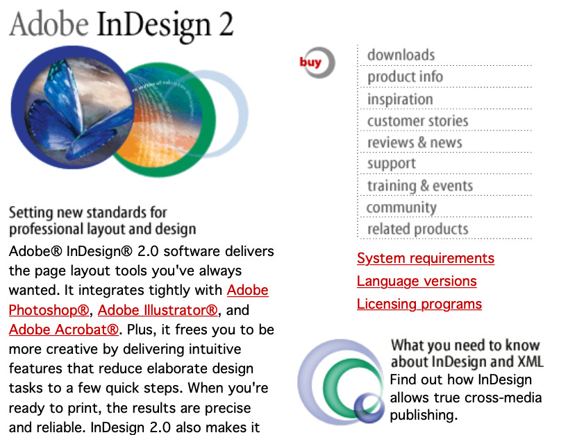 It was arguably InDesign 2, launched on OS X in January 2002, that really launched the success of the app