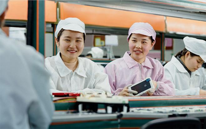 Apple China Manufacturing