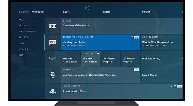Hulu Live Guide