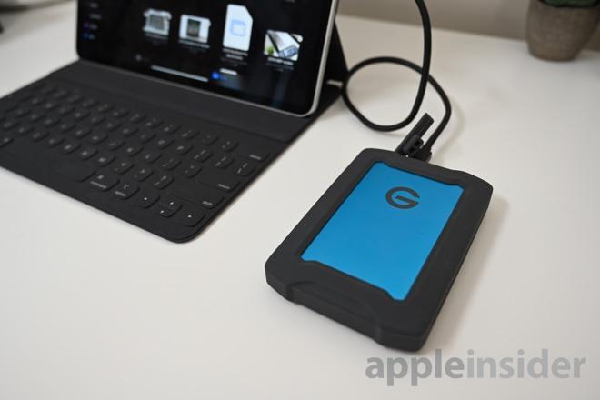G Drive ArmorATD rugged portable hard drive