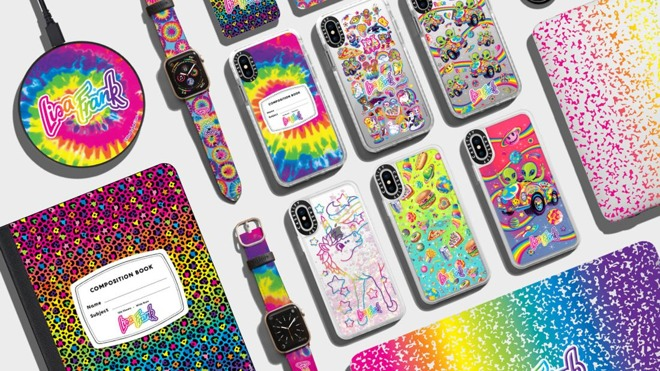 Casetify and Lisa Frank collaboration