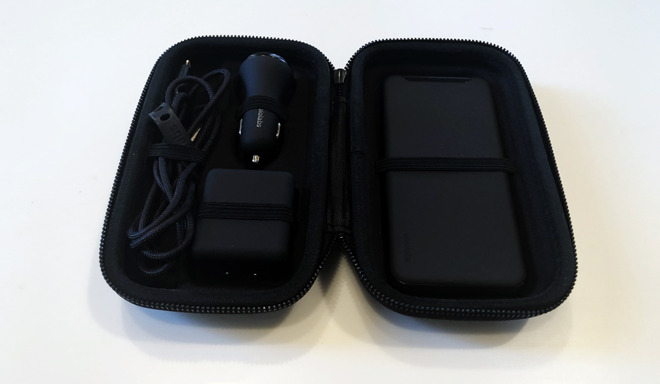 Shadow Series portable charger bundle from Ubio Labs