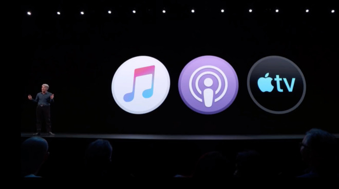 The old iTunes has gone, replaced by separate apps for Music, Podcasts and TV