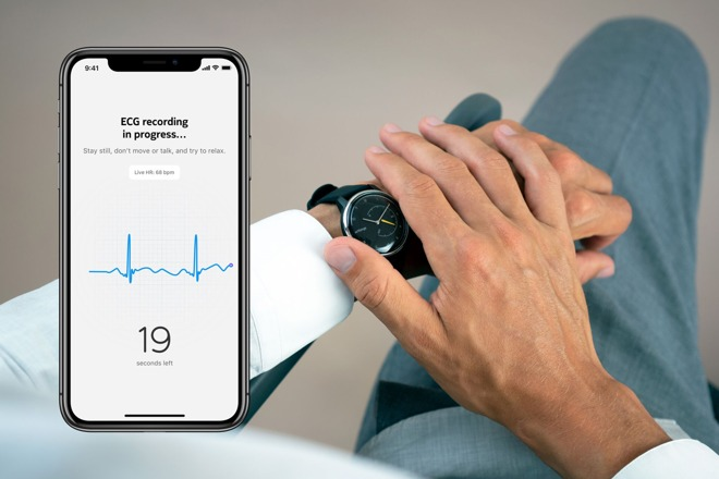 Withings Move ECG is now avilable in Europe