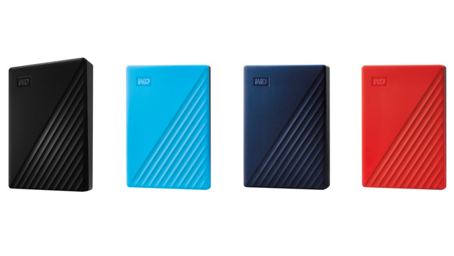 Western Digital updates My Passport for Mac with up to 5TB