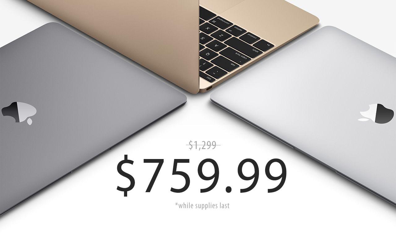 Apple 12 inch MacBook flash deal