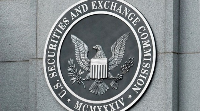 SEC seal on building