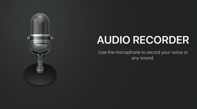 GarageBand can record audio, just remember to switch off the metronome first