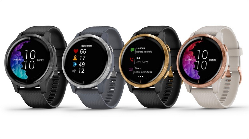 Garmin takes on Apple Watch with OLED-based Venu, Marvel wearables