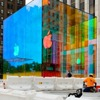 Fifth Avenue Apple Store's iconic glass cube is unwrapped