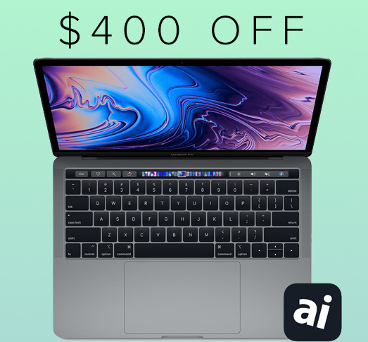 2018 Apple 13 inch MacBook Pro deal