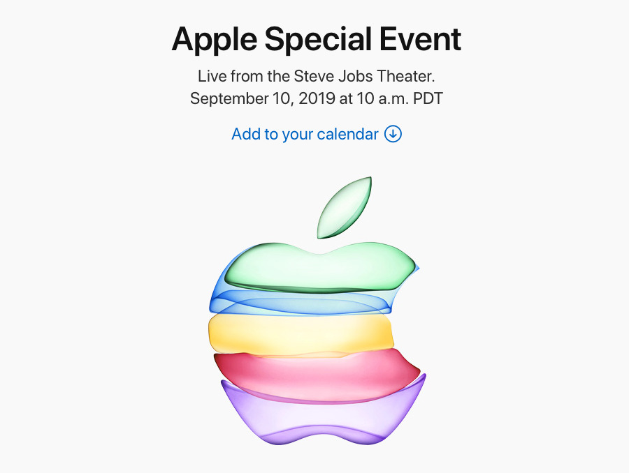 Apple's official site will stream the event, too.