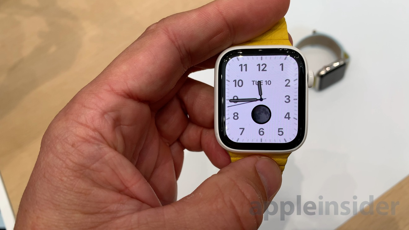 photo of Apple Watch Series 5 -- hands on and first impressions image