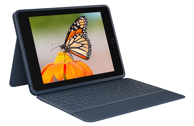 photo of Logitech debuts Rugged and Slim Keyboard Folio 10.2-inch iPad image