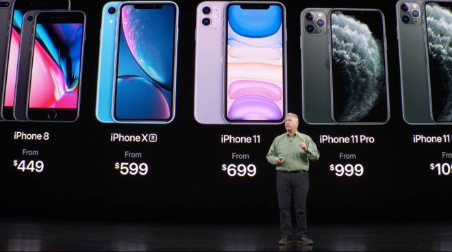 Phil Schiller summarizes Apple's current iPhone lineup