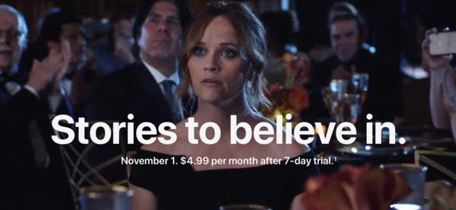 Maybe she didn't believe Apple would release Apple TV+ for just $4.99/month either