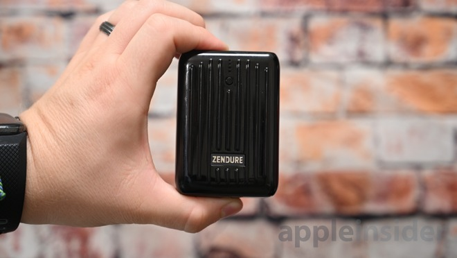The Zendure SuperMini is the smallest 10KmAh battery we've seen yet