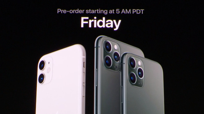 The new 5am PDT pre-order time was revealed at the September 10 event