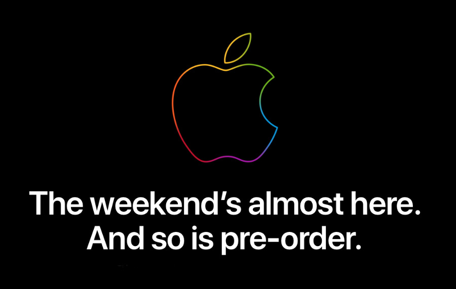 As ever, Apple shut its online store for a few hours before pre-orders began