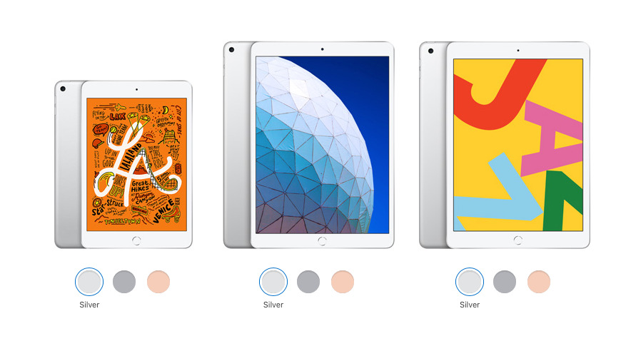 Compared: 2019 iPad 7th generation vs iPad Pro vs iPad Air & mini