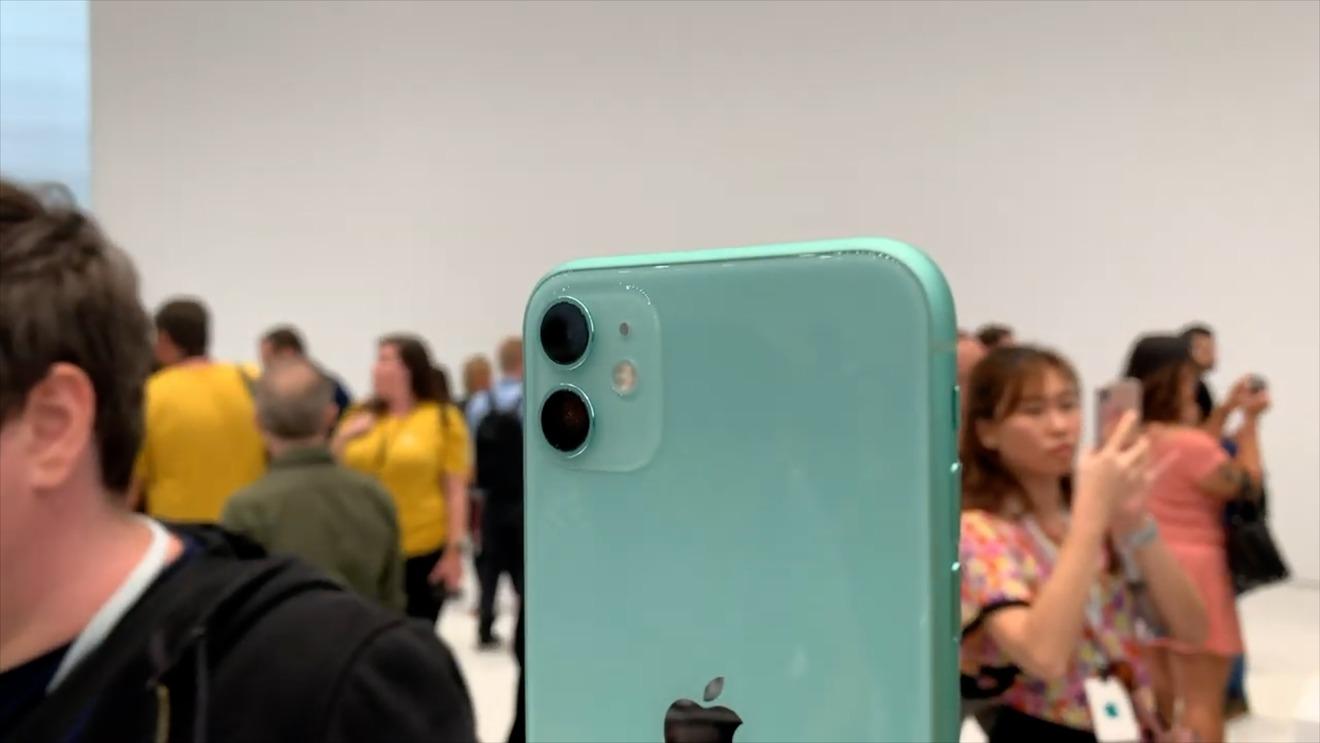iPhone 11 Dual cameras