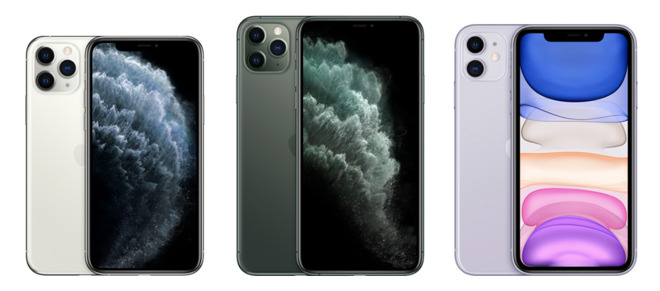 The 2019 iPhone 11 lineup