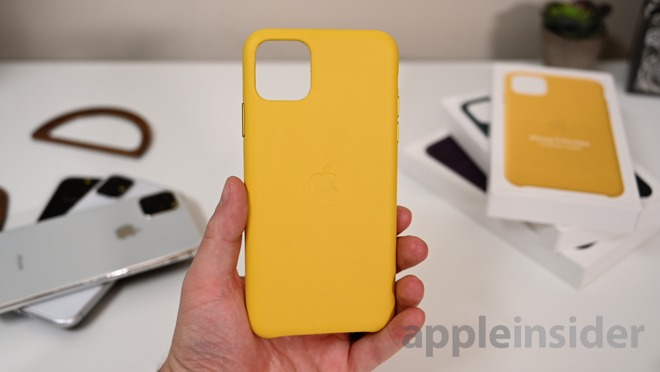 Meyer Lemon is the new leather color for iPhone 11