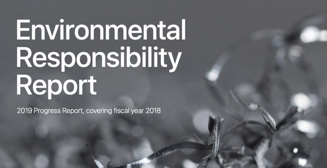Apple's Environmental Responsibility Report