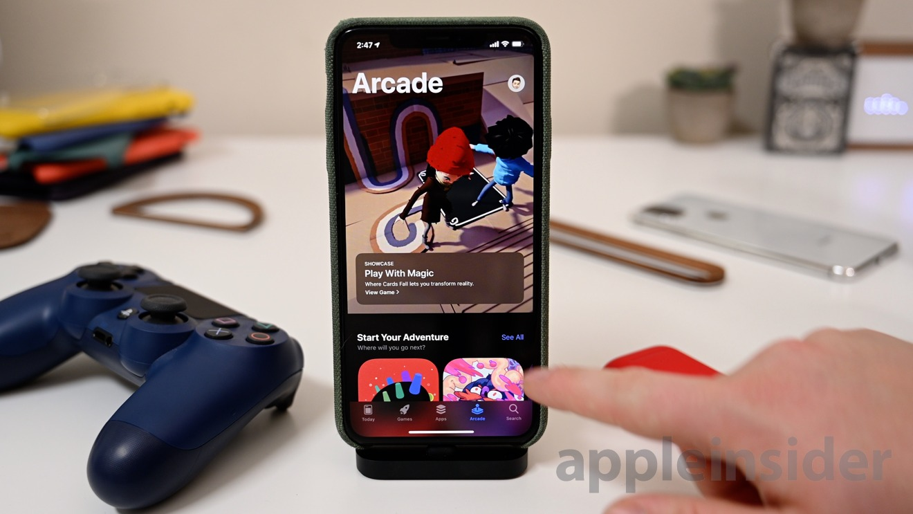 Apple Arcade in the App Store