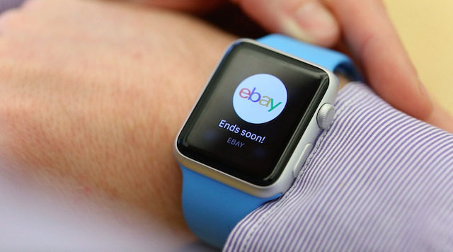 Major apps, such as eBay, tried Apple Watch and then quit it