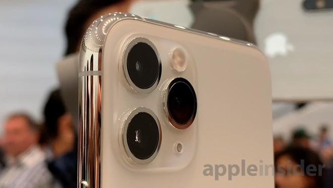 iPhone 11 Pro three-camera system